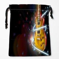 Storage Bags Arrival Acoustic Guitar Drawstring Custom Printed Receive Bag Type Size 18X22cm