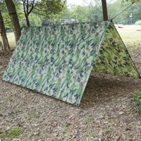 Tents And Shelters Outdoor Shelter Ultralight Tarp Camping Survival Sun Mat Beach Waterproof Multifunctional Rain Awning D8N8