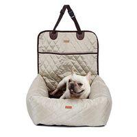 دروبشيبينغ فقط الكلب مقعد السيارة سرير السفر مقاعد سيارات السفر لصغيرة المستوى المتوسط / المقعد الخلفي داخلي / سيارة استخدام الحيوانات الأليفة الناقل السرير