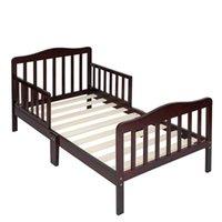 الجملة طفل رضيع طفل سرير الأطفال نوم الأثاث مع الحرابة السلامة Espresso