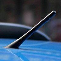 4.7inches العالمي سيارة قصيرة الهوائي الملحقات ألياف الكربون راديو fm antena