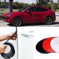 포르쉐 마칸 카이엔 파나메라 911 사운드 절연 내부 강철 PVC Anti-Collision Protector