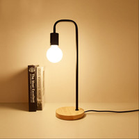 Loft Vintage Desk Lamp with 2 Colors Traditional American Co...