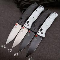 """BenchMade 535BK-4 Axout Oxout Ось складной нож 3.24 """"M390 Black DLC Обычный лезвие обработанные алюминиевые ручки Карманные тактические ножи Открытый кемпинг охота 535-3 BM42 Инструменты"""
