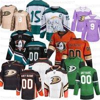 Personalizado Anaheim Ducks Hóquei Jerseys Devin Shore Jakob Silfverberg Troy Terry Daniel Sprong Patrick Eaves Cam Fowler