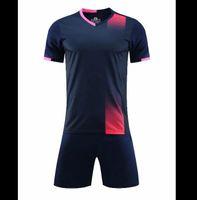 22 Adult Men Children Football Jerseys Boys girls Soccer Clothes Sets Kids training Uniforms Tracksuit customized