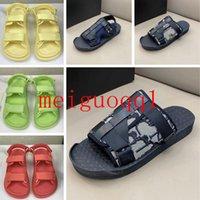 2021 nuevas sandalias súper calientes, sandalias de alta gama para hombres y mujeres, sandalias de marca de marca, sandalias de la plataforma, sandalias de plataforma 35-45