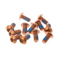 Bike Brakes 12Pcs Bicycle Brake Disc Screws Alloy Steel Bolt Rotor Cycling For Mountain W91C