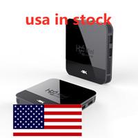 USA in magazzino Android 9.0 TV Box Rockchip RK3228A H96 Mini H8 4K 2.4 + 5 GHz Dual WiFi BT4.0 Set Top box