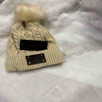 بوم بومس بيني حروف كاب الرجال النساء الدافئة محبوك الصوف قبعة الأزياء الصلبة الهيب هوب قبعة قبعة للجنسين