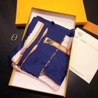 Sciarpa di seta quadrata piccola di alta qualità 50 * 50 cm primavera / estate signore moda elegante twill seta sciarpa multi-funzionale sciarpa senza scatola