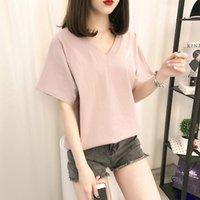 Women's T-Shirt Korean Short Sleeve Girl 2021