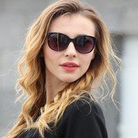 الطويلة الفاخرة خمر القط العين النظارات النساء العلامة التجارية مصمم 2020 نظارات الشمس الساخنة للإناث السيدات نظارات uv400