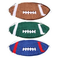 Dog Toys & Chews Dogs Cats Rugby Nosework Mat Band Ring Magic Pad Pet Snuffling Football Cushion Products Smell Training Toy