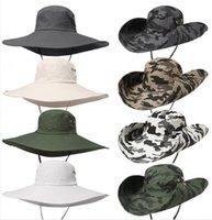 새로운 위장 어부 모자 파티 용품 야외 위장 모자 스포츠 잎 정글 군사 모자 낚시 모자 썬 스크린 거즈 Ewe6312