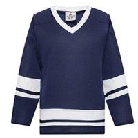 2021 Homem em branco Gelo Hóquei Jerseys Uniformes Atacado Prática Hockey Shirts Good 0011