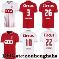 Estándar Liège Raskin Soccer Jersey 2021 22 R. Condandard Liege 100 años Laifis Vanheusden Carcela Maillots de Foot Amallah Lestienne Kit de camisa de fútbol