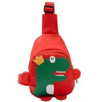 Dinosaur Shoulder Bag Cartoon Cute Animals Design Mini Backpack 6 Colors Nylon Cloth Kids Straddle Bags
