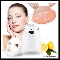 EPACK Электрические автоматические фруктовые маски Машина DIY Натуральный фрукты овощной молочко лица Maker Maker Maker с 32 шт. Таблетки коллагена