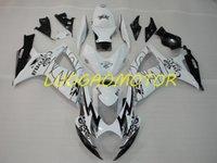 ABS Injecion Free Custom Fairing kits Cowling Fairings kit for SUZUKI Black White *!%YUH GSXR 600 750 GSXR600 GSXR750 Bodywork 2006-2007 06-07 Motorcycle factory