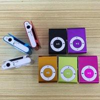& MP4 Players Mini Portable MP3 Music Player Light Hifi Clip Waterproof Sport Cute Fashion Walkman Support 1-8 GB Card