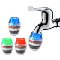 Kitchen Faucets 3 Pack Faucet Mount Filters Hard Water Activated Carbon Purifier Filtration Tap Clean Filter