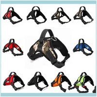 Leashes Supplies Home & Gardenadjustable Collars Pet Dog Harness Soft Breathable No Pl Walk Vest Canvas For Small Medium Puppy Pets Products