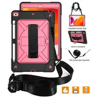 Case for iPad 8th 7th Generation 10.2 inch Dual-Layer Heavy Duty Shockproof Tablet Cover with Stand