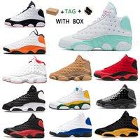 2021 Erkekler Basketbol Ayakkabıları Sneaker Jumpman 13 13s 25th Düşük Yüksek Yıldönümü Bred Concord Geriye Gibi Oyun Usta Açık Sneakers # 999