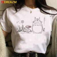 Totorio studio ghibli harajuku kawaii t shirt femmes ullzang miyazaki hayao graphique t-shirt dessin animé t-shirt mignon anime top tee femme c0220