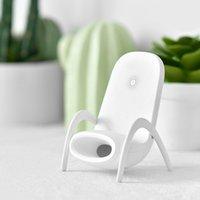 مصغرة أجهزة شواحن لاسلكية كرسي العنوان العام لالروبوت Apple 10W الذكية USB شحن سريع شاحن قوس الهاتف