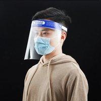 PE-Schutz-Gesichts-Schirm-Maske wiederverwendbar klare Goggle-Sicherheit transparenter Anti-Fog-Augenschutz Verhindern, dass Platschüsse Öl-Spritzwassermasken hy0086 kochen