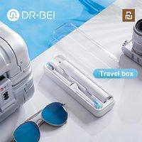 Dr. Bei Sonic Ultrasonik Otomatik Diş Fırçası için Şarj Edilebilir Elektrikli Diş Fırçası 2 Modu Şarj Edilebilir Su Geçirmez Xiaomi YouPin 210310
