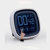 Digital Timer Touch Screen LED Electronic Timer Countdown Ti...