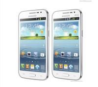 Samsung Galaxy Win I8552 Android 4.1 مقفلة الهاتف الخليوي المجدد ROM 4GB WIFI رباعية النواة 4.7 بوصة شاشة تعمل باللمس