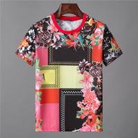 남성 디자이너 티셔츠 남성 의류 티셔츠 패션 여름 남성 코트 조류 망막 편지 인쇄 고급스러운 남자 셔츠 의류 lol