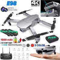 E98 Усовершенствованный срок службы аккумулятора Aerial Professional HD складной беспроводной беспроводной WiFi камеры детские подарки