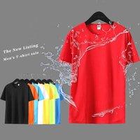 Men's T-Shirts Multicolor Quick Dry Short Sleeve Sport T Shirt Gym Fitness Trainer Running T-Shirt Mens Breathable Sportswear