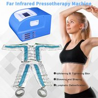 Nouvelle-Arrivée Pression aérienne minceur Machine Pressothérapie Pressothérapie Cellulite Muscles Massage Machine de mise en forme de corps lymphatique