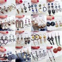 Retro Tassel Long Dangle Earrings For Women 925 Silver Eardrop Bohemia Earring Fashion Trend Accessories Jewelry 1 lot 10 pairs