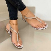 Ladies Rhinestones Sandals Summer Beach Slippers For Women Sandals Flip Flops Ladies Crystal Beach Sliders Casual Slippers Shoes X0728