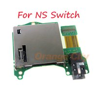 OEM For Nintendo Switch card slot For NS game card slot with headphone socket built-in accessories
