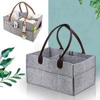Storage Bags Multifunctional Maternity Handbags Felt Baby Diapers Bag For Mummy Nappy Changeable Milk Bottle Cricut