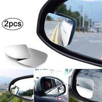 2 pz 360 gradi gradualmente angolo regolabile rotazione auto retrovisore ausiliario cieco punto specchio accessori per auto per specchio parcheggio