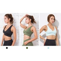 Gym Clothing FDBRO Women Brassiere High Support Sports Bra Top Sport Fitness Seamless Push Up Yoga Padded Active Wear