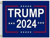 Hängen 90 * 150cm Trump für mehr Jahre Banner 12 Arten Trump 2024 Flaggen 3x5ft Digital Print Donald Trump 2024 Präsident Flagge