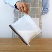 Recipientes de armazenamento de salvadores de alimentos 1000ml sacos de silicone transparente vacuum fresco saco de preservação resealable frigorífico