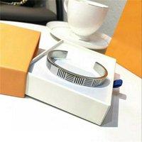 Unisex pulseira abrindo tamanho ajustável titânio pulseira pulseira plating carta pulseira moda jóias fornecimento