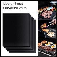 Non-Stick BBQ Grill Matte Barbecue Grill Pads Kochen Backen Tischsat Matten Küche Gadgets Zubehör Wiederverwendbare Röster Werkzeuge
