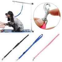 Dog Collars & Leashes Leash Rope Pet Cat Grooming Loop Table Arm Noose Adjustable For Bath Restraint